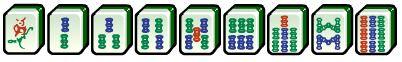 mahjong bamboo suit tiles